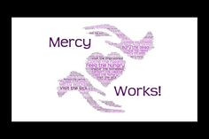 """Ash Wednesday begins our Lenten series, Mercy Works! We hope to inspire you to more acts of mercy as we follow Pope Francis' call to """"work together for the common good."""" Days Until Easter, Corporal Works Of Mercy, Beginning Of Lent, Ash Wednesday, Lenten, Pope Francis, Helping Others, No Response, Sick"""
