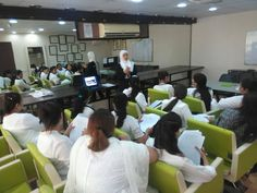 Make up tools training at #Depilex beauty clinic & institute, #Lahore. #DepilexLive #MM #Pakistan