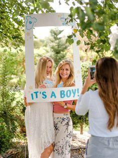 Large Instagram/Polaroid photo frame - photo booth props #babyshower #babyshowerprops #bluebabyshower #gardenparty Polaroid Photos, Photo Booth Props, Babyshower, Frame, Instagram, Fashion, Polaroid Pictures, Picture Frame, Moda