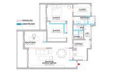 Apartamento Consolação / Felipe Hess #plan