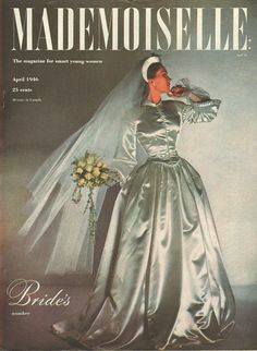 Mom, so glad I found this cover for you. You saw this & knew it was the dress for you. You paid some girl you knew to make it for you & it cost you a lot, 100.00. It's still as beautiful as the day you wore it to marry dad, all those yrs ago. It's so close to the picture, but hot on a 98 degree Illinois day. You & dad were together for 62 yrs & now, are together again. I miss you both.