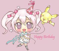 super kawaii!~ happy birthday to you!