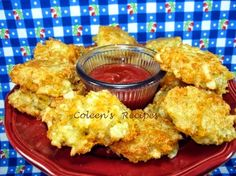 This recipe is one the kids will get a kick out of...home made tater tots!! Super quick and simple to make, they are a mixture of chopped po...