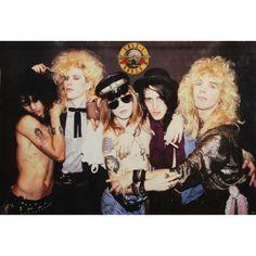 Guns N Roses Group Import Poster