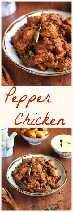 Pepper chicken is a very easy and simple preparation of chicken,Its a very spicy delight,black pepper and red chili are the main spices.and it has a delicious flavor of cumin,fennel and curry leaves.there are different varieties of pepper chicken ,Chinese,Kerala,Chettinadu etc,This spicy delight is