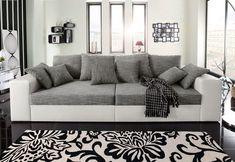 Außergewöhnliches XXL Sofa GIANT LOUNGE in Trendfarbe Greige | Riess ...
