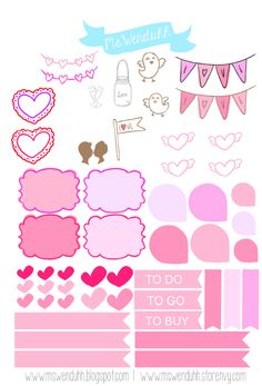 Here is another free print & cut file for you to download. If you do not have a silhouette I am also providing the PDF version.You can find them below! You can use these stickers to decorate your planners for the week or month of valentine's day! Each sheet will include 4 copies of the...Read More