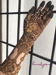 Pretty Henna Designs, Floral Henna Designs, Mehndi Designs Feet, Latest Bridal Mehndi Designs, Full Hand Mehndi Designs, Mehndi Designs 2018, Mehndi Designs For Beginners, Mehndi Design Pictures, Mehndi Designs For Girls