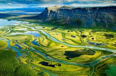 Into the wild © Kai Jensen A picture taken from Skierfe, a mountain in Sarek National Park, Sweden. Places To Travel, Oh The Places You'll Go, Places To Visit, Places Around The World, Around The Worlds, Beautiful World, Beautiful Places, Beautiful Scenery, Amazing Places