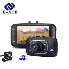 E-ACE Hidden Wifi Mini Car Dvr Full HD 1080P Video Recorder Auto Dash Cam Dual Camera Lens Automotive Camcorder Night Vision ** AliExpress Affiliate's buyable pin. Click the image to find out more on www.aliexpress.com