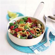 Summer spaghetti recipe  Rediscover your love for spaghetti with this delicious summery recipe with a Mediterranean twist.