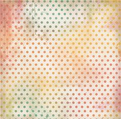 Silhouette Design Store - View Design #29255: pastel polka