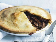 Classic Beef and Ale Pie. Sunday Style, Sep-01-13