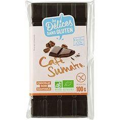 Chocolat noir au café de Sumatra - 100g - Grillon d'or (Céréco) Or, Products
