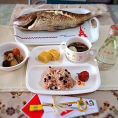 本日娘のお食い初めしました(*^_^*) - 64件のもぐもぐ - お食い初め by みっこりん Breakfast, Food, Morning Coffee, Meals, Morning Breakfast