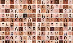 On the Creative Market Blog - This Powerful Project Matches Skin Tones to Pantone Swatches