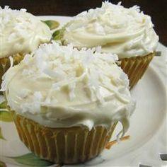 Lemon Coconut Cupcakes Allrecipes.com