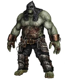 Orc Executioner - Characters & Art - Of Orcs And Men