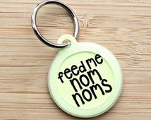 Items I Love by Bailey on Etsy Cute Dog Tags, Dog Tags Pet, Cute Dogs, Fur Babies, Pet Supplies, Nom Nom, Personalized Items, Pets, My Love