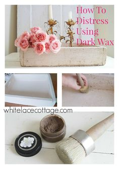 DIY Distressing With Dark Wax (scheduled via http://www.tailwindapp.com?utm_source=pinterest&utm_medium=twpin&utm_content=post794247&utm_campaign=scheduler_attribution)