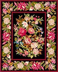 Needlepoint rug