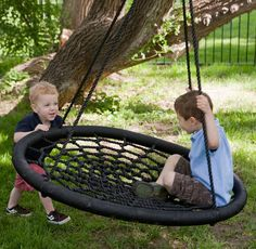 the most awesome swing in the universe (holds up to 650 llbs - fun for the whole family!)