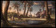 Date plantation by AnthonyAvon