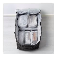 IKEA - FÖRFINA, Travel bags, set of It's easy to stay organized while you travel – these packing bags in different sizes help keep your clothes separated and easy to find in your suitcase. At Home Furniture Store, Modern Home Furniture, Affordable Furniture, Suitcase Packing, Travel Luggage, Travel Bags, Ikea, Travel Chic, Packing Cubes