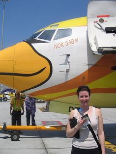 The way to get low cost flight tickets methods, recommendations and great secrets. http://www.howtogetcheapairlinetickets.net/ Nok Air - super cheap airline with cute planes
