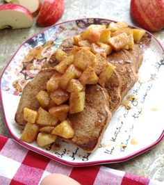 Revamped Cinnamon Apple Eggy Bread I Nutritionist in the Kitch