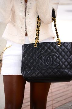 Chanel GST ~ HAVE IT...LOVE IT!!! It even fits A4 documents perfectly