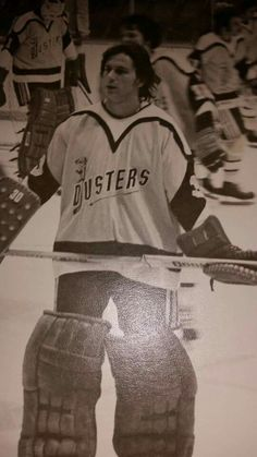 Ken Holland with the Broome Dusters. e28c24a8ac8