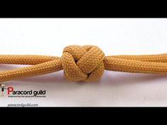 Double lanyard knot - YouTube