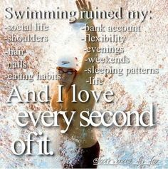 Best swim quote put there