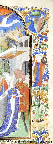Book of Hours, MS M.453 fol. 98v - Images from Medieval and Renaissance Manuscripts - The Morgan Library & Museum