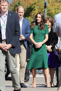Prince William, Duke of Cambridge and Catherine Duchess of Cambridge visit Kelowna University during their Royal Tour of Canada on September 27, 2016 in Kelowna, Canada.