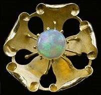 Superb Guild of Handicraft Brooch by Charles Robert Ashbee