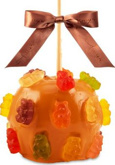 Yummy Gummy Bear Caramel Apple