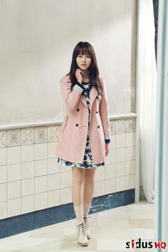 Korean Actresses - Kim So Hyun Kim So Hyun Fashion, Korean Girl Fashion, Asian Fashion, Kim Sohyun, Korean Celebrities, Asian Style, Korean Style, Korean Actresses, Happy Women