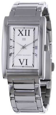 Tommy Hilfiger Women's 1780860 Stainless Steel Bracelet Watch Tommy Hilfiger. $95.00. Roman numeral hour markers. Strong mineral crystal protects dial from scratches and dings. Quality Japanese-quartz movement. Stainless steel case and bezel. Water-resistant to 99 feet (30 M)