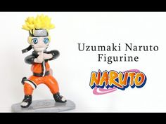 Naruto Uzumaki Polymer Clay Figurine Tutorial - YouTube