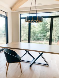 White oak dining table with our modern Nova base. Live Edge Furniture, Furniture Design, White Oak Dining Table, Nova, Base, Studio, Modern, Products, Rustic Wood Furniture