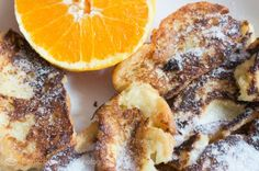 Torrijas a la naranja de Picanya #arrozalacubanajaponesa #food #love #photography French Toast, Love, Breakfast, Orange Leather, Sweet Recipes, Morning Coffee, Amor, El Amor, I Like You