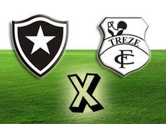 Botafogo x Treze será no Almeidão