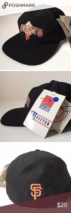 ce32da94530 ❗️FLASH SALE❗️SF Giants Baseball Hat Fitted 7 3 8 San Francisco Giants Hat  Brand New w  Tags