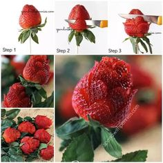Strawberry roses....this is SO me!!!