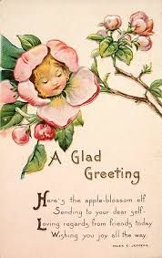 Image result for victorian flower  greeting cards