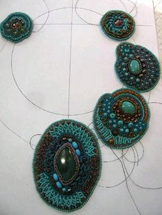 Bead Embroidery Art tutorial