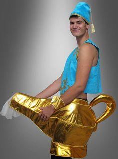 Flaschengeist Kostüm - verkleiden als Wunderlampe mpala