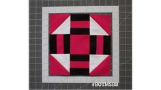 Stash Builder Box's Block of the Month for June is the Golden Gate block. This block looks complicated, but it is very simple and quick to make up. You could easily make a whole quilt of Golden Gate...